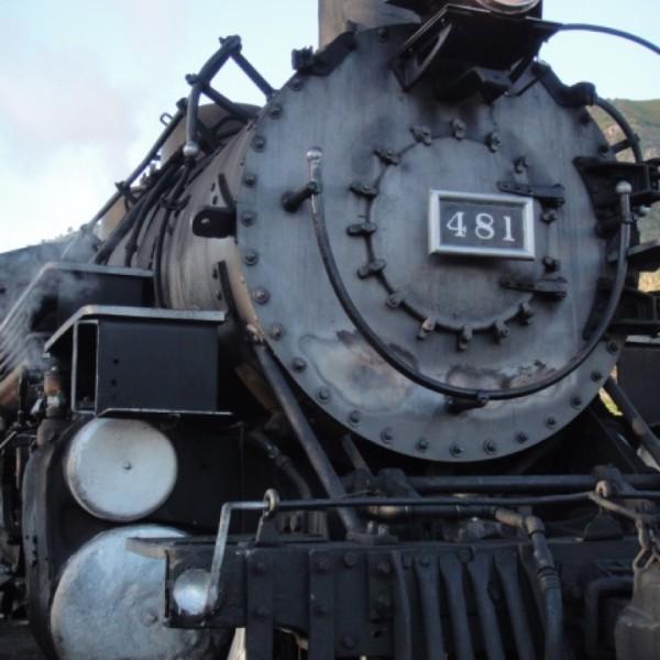 Durango-Silverton Railroad.  Durango, Colorado