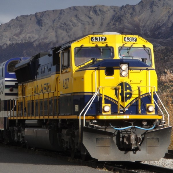 Alaska Railroad.  Denali, Alaska
