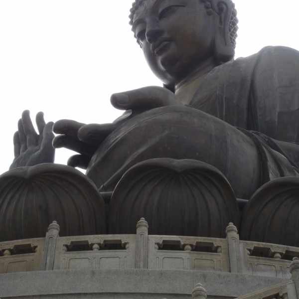 The Big Buddha.  Hong Kong