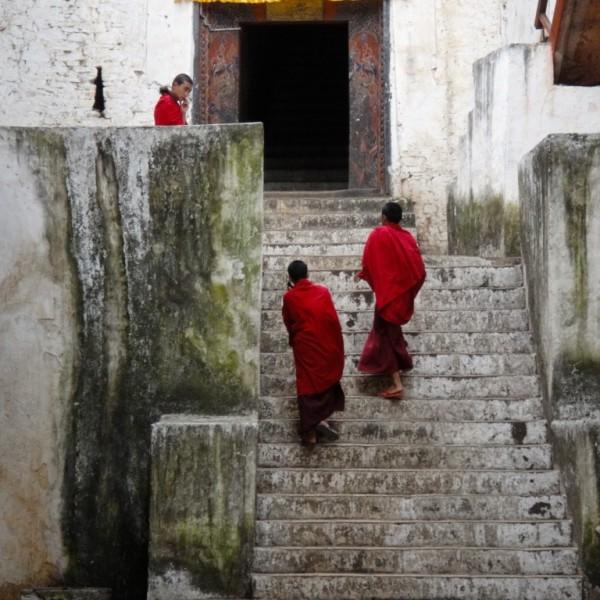 Paro Dzong.  Paro, Bhutan