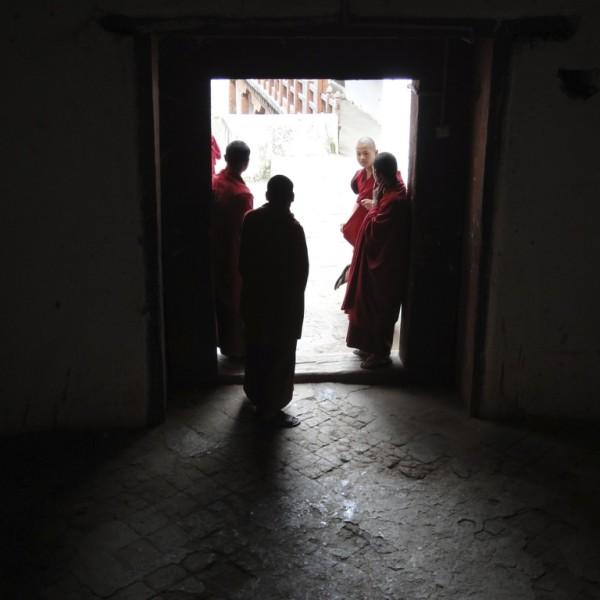 Punakha Dzong.  Punakha, Bhutan