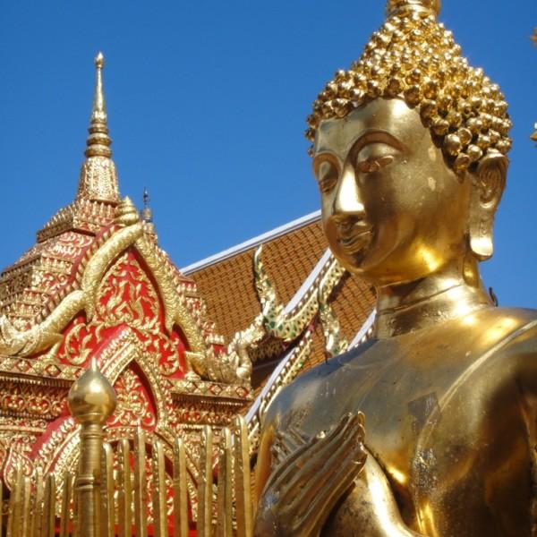 Temples.  Bangkok, Thailand