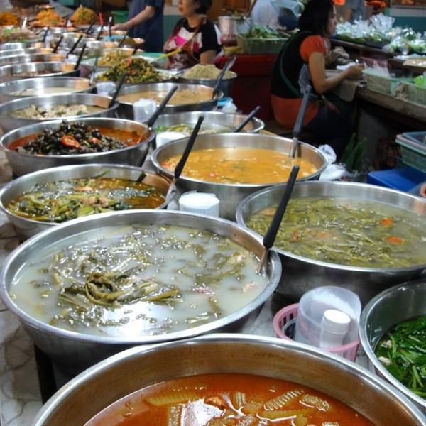 Thai delicacies. Chiang Mai, Thailand