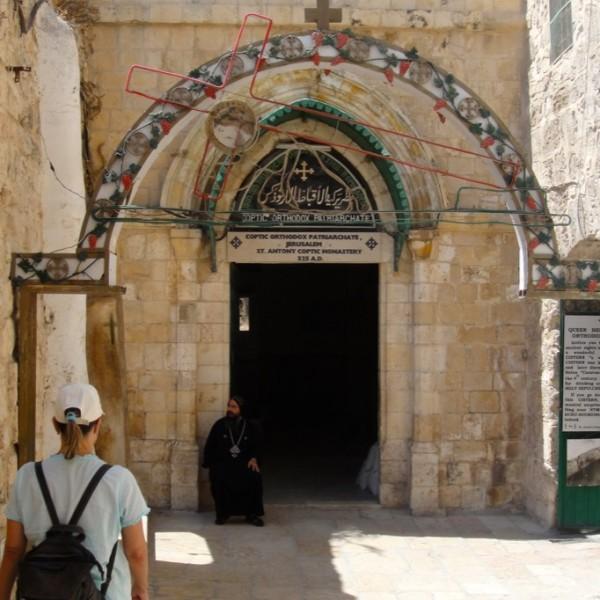 St. Antony Coptic Monastery. Jerusalem, Israel