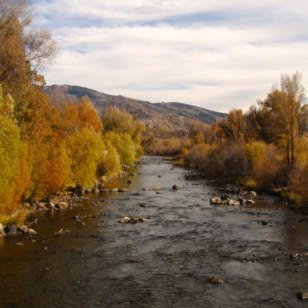 Yampa River. Steamboat Springs, Colorado