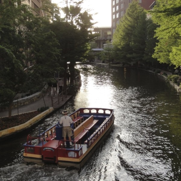 Paseo del Rio. San Antonio, Texas